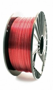 Filament PET-G F3D 2.85mm Transparent Red 0.2kg