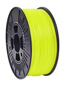 Filament ABS 702 Nebula 1.75mm Yellow Fluo 1kg (1)