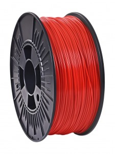 Filament PLA Nebula 1.75mm Red Fluo 1kg  (1)