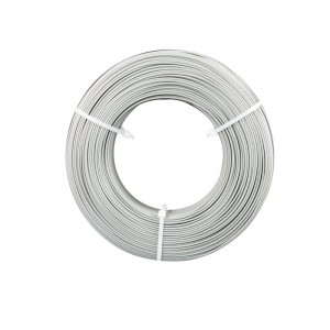 Filament Easy PLA Refill Fiberlogy 1.75mm Gray 0.85kg