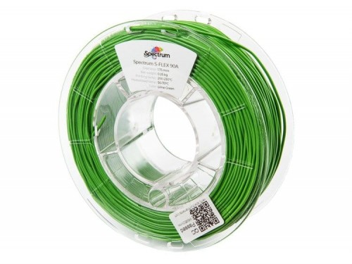 Filament-Spectrum-S-Flex-90A-1-75mm-0-25kg-LIME-GREEN