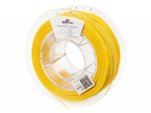 Filament-Spectrum-S-Flex-90A-1-75mm-0-25kg-BAHAMA-YELLOW
