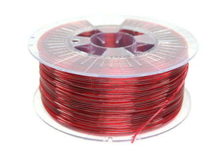 Filament-Spectrum-PET-G-1.75mm-Transparent-Red